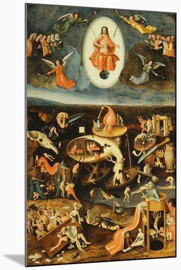 The Last Judgement-Hieronymus Bosch-Mounted Giclee Print