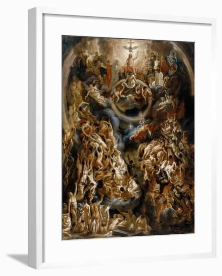 The Last Judgement-Jacob Jordaens-Framed Giclee Print