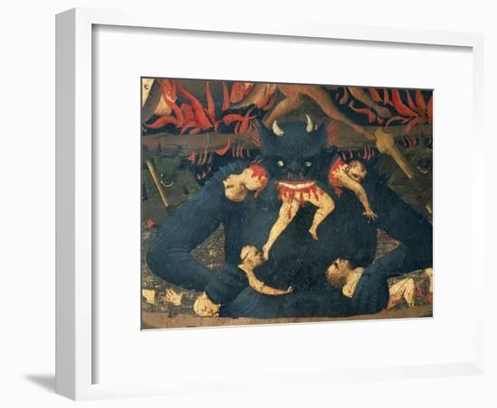 The Last Judgment, 1431-Giovanni Da Fiesole-Framed Premium Giclee Print