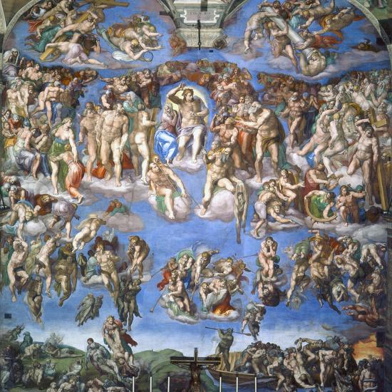 The Last Judgment, c.1540-Michelangelo Buonarroti-Giclee Print