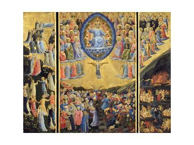 The Last Judgment-Fra Angelico-Giclee Print
