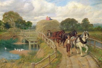The Last Load-Philip Richard Morris-Giclee Print