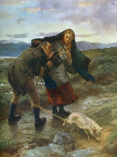 The Last Match, 1887-William Small-Giclee Print