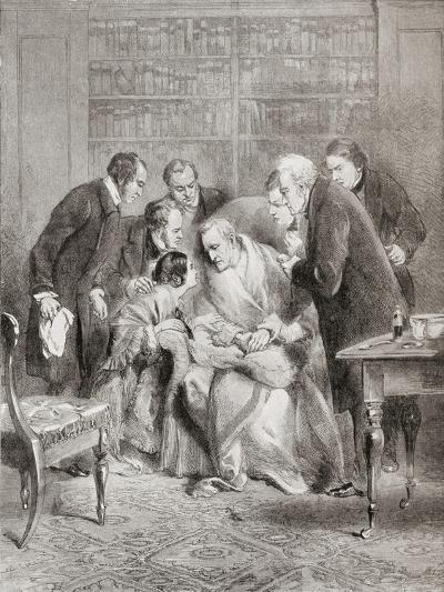 The Last Moments of the Duke of Wellington. Field Marshal Arthur Wellesley--Giclee Print