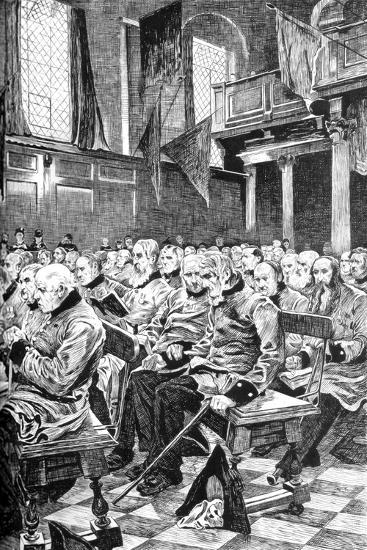 The Last Muster, 1875 (C1880-188)-Hubert von Herkomer-Giclee Print