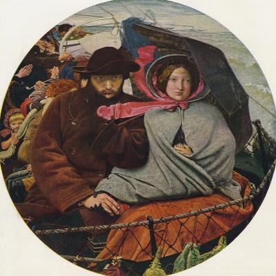 The Last of England, 1855-Ford Madox Brown-Giclee Print