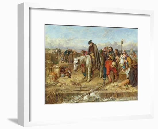 The Last of the Clan, 1865-Thomas Faed-Framed Giclee Print