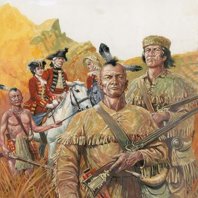 The Last of the Mohicans, the Novel by James Fenimore Cooper--Giclee Print
