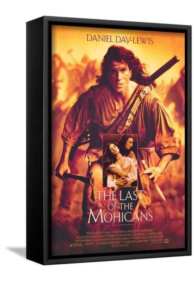 The Last of the Mohicans--Framed Canvas Print