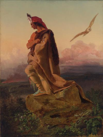 The Last of the Mohicans-Emanuel Gottlieb Leutze-Giclee Print