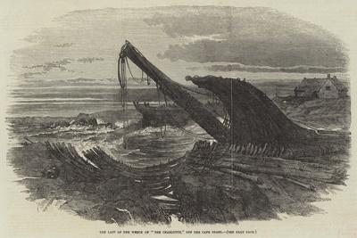 The Last of the Wreck of The Charlotte, Off the Cape Coast--Giclee Print
