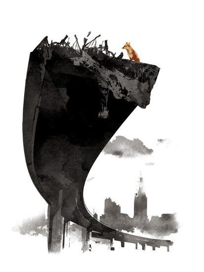 The Last of Us-Robert Farkas-Giclee Print