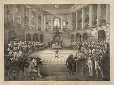 The Last Parliament of Ireland--Giclee Print