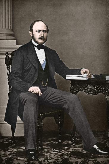 The Last Portrait of Albert, Prince Consort, 1861-Vernon Heath-Photographic Print