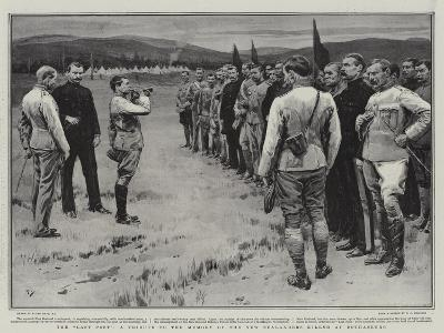 The Last Post, a Tribute to the Memory of the New Zealanders Killed at Bothasburg-Frank Dadd-Giclee Print
