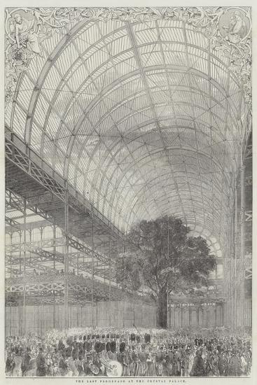 The Last Promenade at the Crystal Palace--Giclee Print