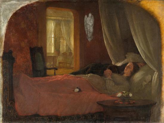 The Last Sleep, c.1858-George Cochran Lambdin-Giclee Print