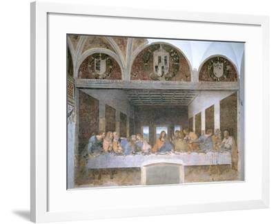 The Last Supper, 1495-97-Leonardo da Vinci-Framed Giclee Print