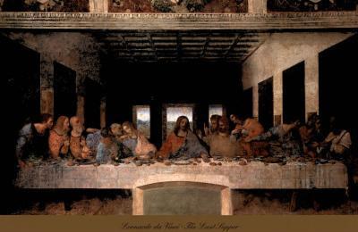 The Last Supper, 1498 (post-restoration)-Leonardo da Vinci-Art Print