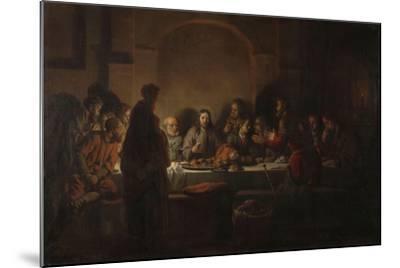 The Last Supper, 1664-Gerbrandt Van Den Eeckhout-Mounted Giclee Print