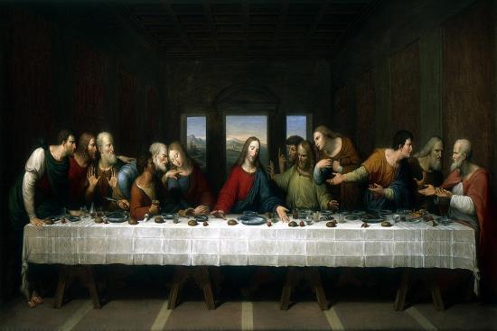 The Last Supper, 1803-Michael Kock-Giclee Print