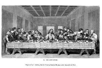The Last Supper, 1843-J Jackson-Giclee Print