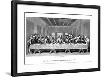The Last Supper, 1843-J Jackson-Framed Giclee Print
