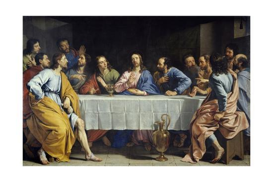 The Last Supper by Philippe De Champaigne--Giclee Print