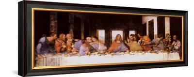 The Last Supper, c.1498-Leonardo da Vinci-Framed Art Print
