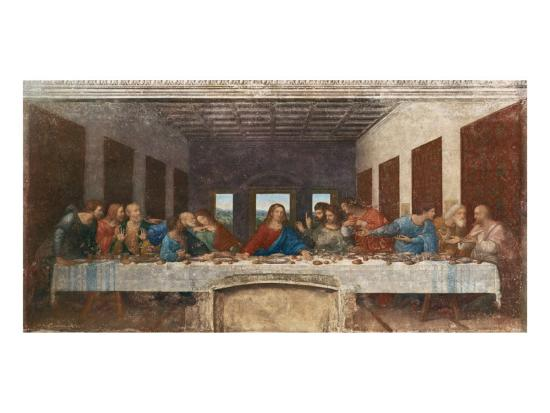The Last Supper, c.1498-Leonardo da Vinci-Premium Giclee Print
