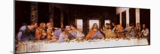 The Last Supper, c.1498-Leonardo da Vinci-Mounted Print