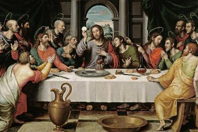 The Last Supper, Ca. 1562-Juan De juanes-Giclee Print