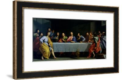 """The Last Supper, Called """"The Little Last Supper""""-Philippe De Champaigne-Framed Giclee Print"""