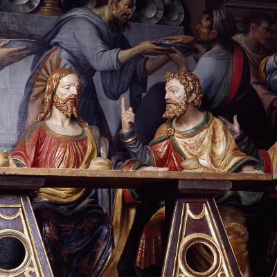 The Last Supper, Detail Showing Jesus Christ and Saint Thomas, 1532--Giclee Print