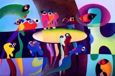 The Last Supper II-R^o^ Schabbach-Limited Edition