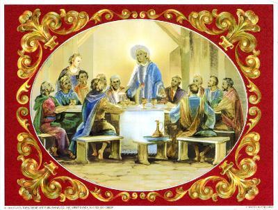 The Last Supper-Vincent Barzoni-Art Print