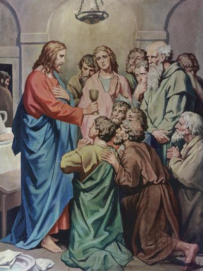 The Last Supper-Heinrich Hofmann-Giclee Print
