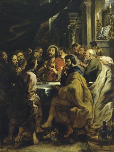 The Last Supper-Peter Paul Rubens-Giclee Print