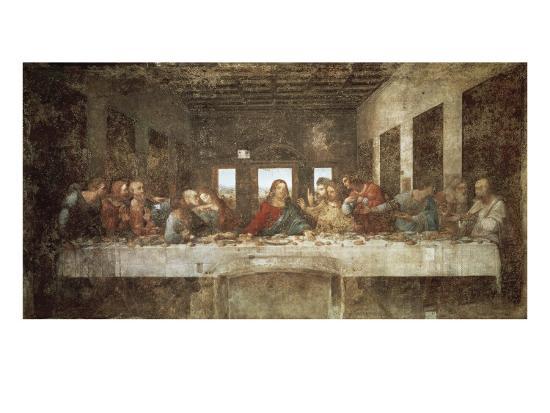 The Last Supper-Leonardo da Vinci-Art Print