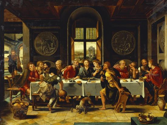 The Last Supper-Pieter Coecke van Aelst (Studio of)-Giclee Print