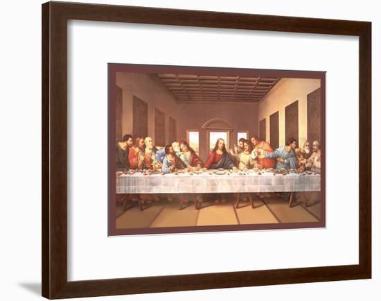 The Last Supper-Michaelangelo-Framed Art Print