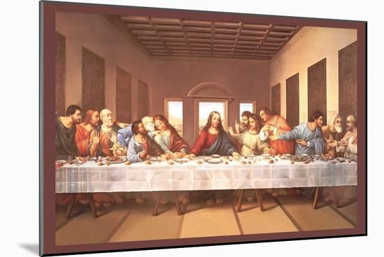 The Last Supper-Michaelangelo-Mounted Art Print