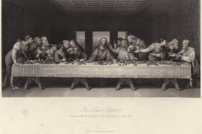 The Last Supper-Leonardo da Vinci-Giclee Print