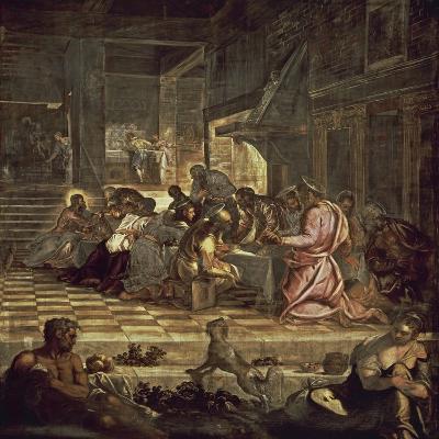 The Last Supper-Jacopo Sansovino-Giclee Print