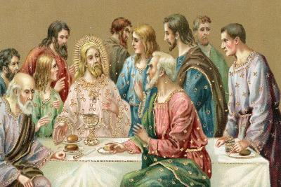 The Last Supper--Giclee Print