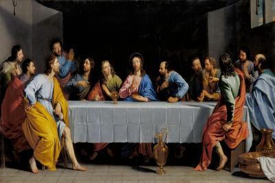 The Last Supper-Philippe De Champaigne-Giclee Print