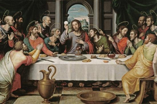 The Last Supper-Juan De juanes-Giclee Print