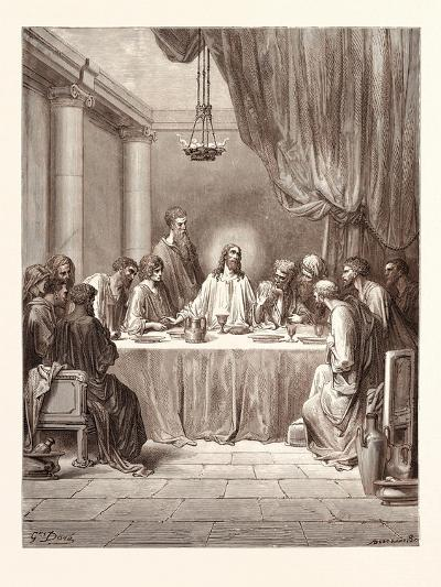 The Last Supper-Gustave Dore-Giclee Print