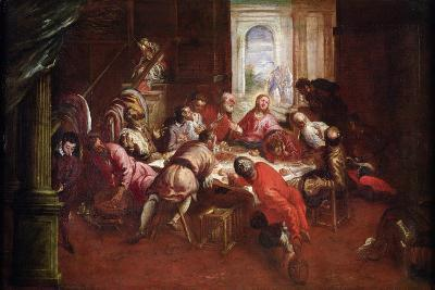 The Last Supper-Jacopo Robusti Tintoretto-Giclee Print