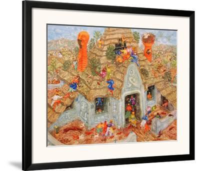 The Last Thatched Roof-Erich Brauer-Framed Art Print